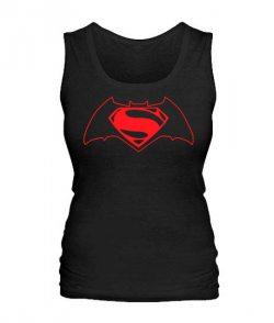 Женская майка Бетмен-супермен №2