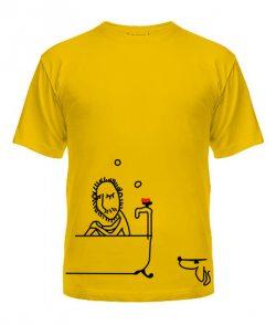 Мужская футболка Влюбленная парочка №3