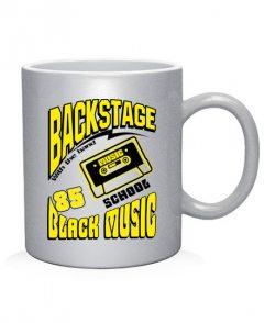 Чашка арт Черная музыка