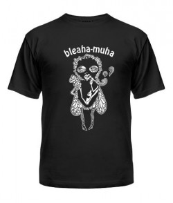 Мужская Футболка Bleaha-muha