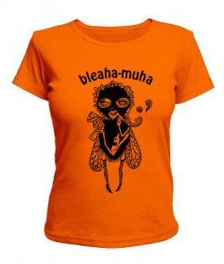 Женская футболка Bleaha-muha