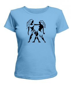 Женская футболка Близнецы