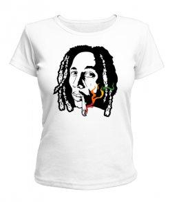 Женская футболка Bob Marley Вариант №3