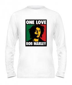 Мужской Лонгслив Bob Marley Вариант №4