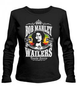 Женский лонгслив Bob Marley Вариант №5