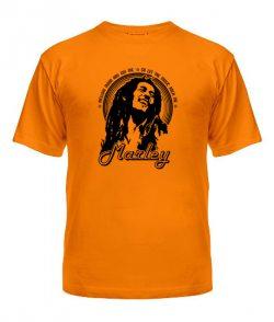 Мужская Футболка Bob Marley Вариант №2