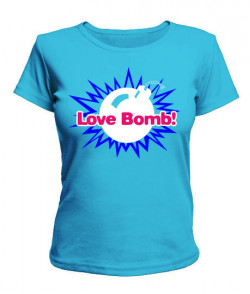 Женская футболка Бомба
