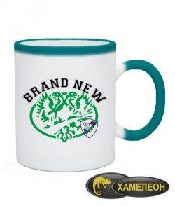 Чашка хамелеон Новый бренд