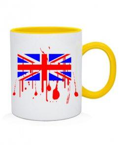 Чашка Британский флаг