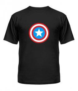 Мужская Футболка Капитан Америка Вариант 2