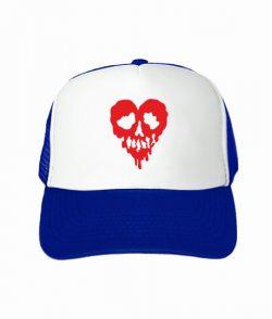 Кепка тракер Сердце-череп