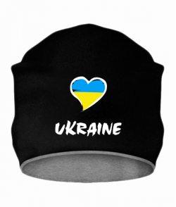 Шапка Сердце Ukraine