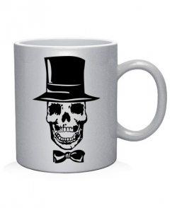 Чашка арт Молодожены-черепа (для него)