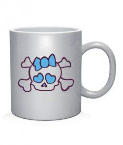 Чашка арт Черепушка