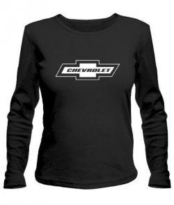 Женский лонгслив Шевроле (Chevrolet)
