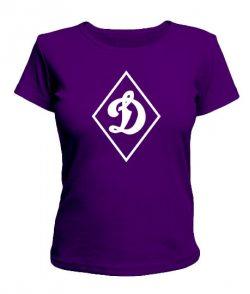 Женская футболка Динамо 2
