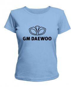Женская футболка Деу (GM Daewoo)