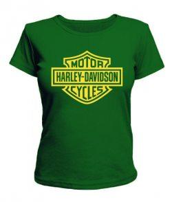 Женская футболка Motor Harley-Davidson cycles