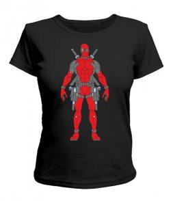 Женская футболка Дэдпул №8