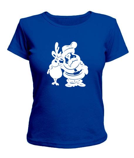 Женская футболка New year №2