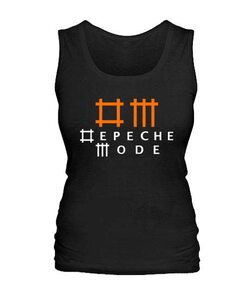 Женская майка Depeche mode (Депеш мод) Вариант №8