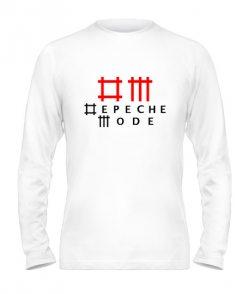 Мужской Лонгслив Depeche mode (Депеш мод) Вариант №8