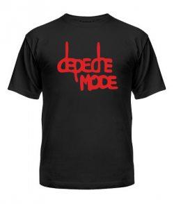 Мужская Футболка Depeche mode (Депеш мод) Вариант №16