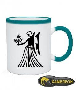 Чашка хамелеон Дева