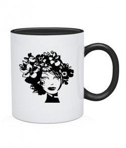 Чашка Девушка Вариант №5