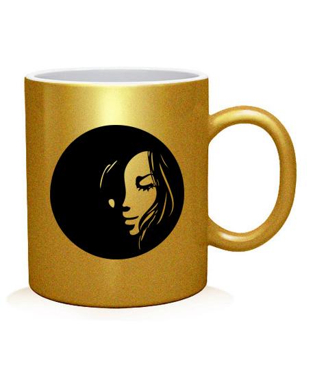 Чашка арт Девушка Вариант №6