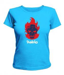 Женская футболка Suicide Squad Diablo