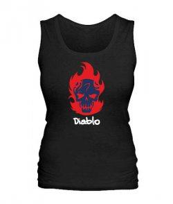Женская майка Suicide Squad Diablo