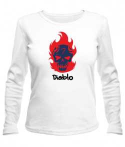 Женский лонгслив Suicide Squad Diablo