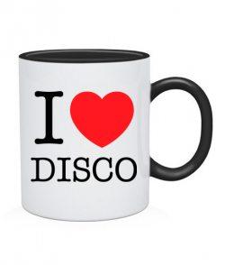 Чашка I love disco