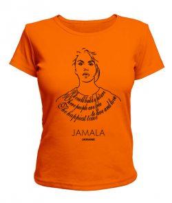 Женская футболка Джамала Вариант №5