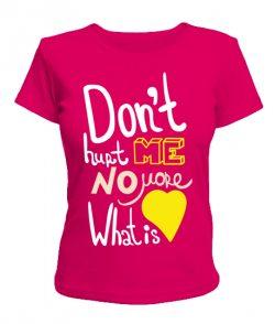 Женская футболка What is Love