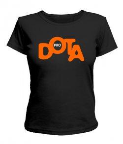 Женская футболка DOTA+