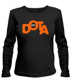 Женский лонгслив DOTA+