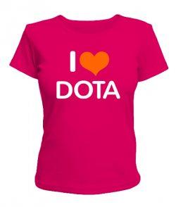 Женская футболка DOTA+ Вариант 4