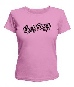 Женская футболка Electro Dance Style