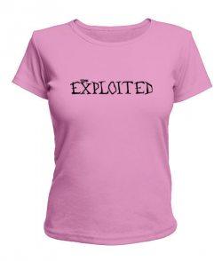 Женская футболка Exploited