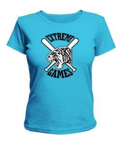 Женская футболка Экстремальные игры