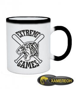 Чашка хамелеон Экстремальные игры