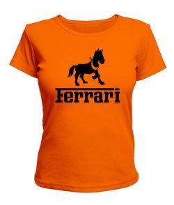 Женская футболка Ferrari