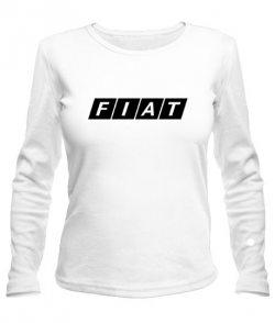 Женский лонгслив Фиат (Fiat)