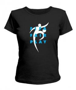 Женская футболка ФИФА Феир Плей