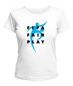 Женская футболка Fifa Fire Play