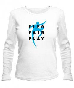 Женский лонгслив Fifa Fire Play