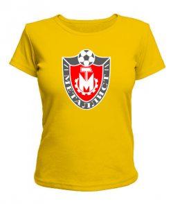 Женская футболка Металист