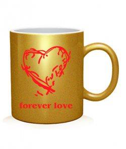 Чашка арт Forever love (для нее)